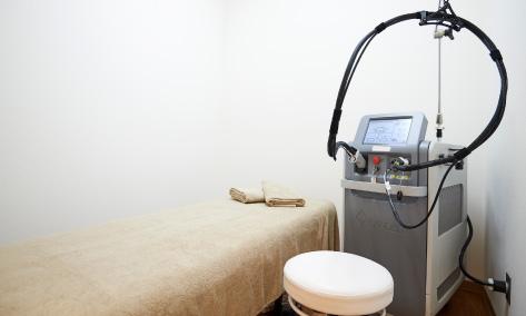 メンズルシアクリニックの施術室
